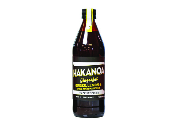 Hakanoa Ginger, Lemon & Manuka Honey